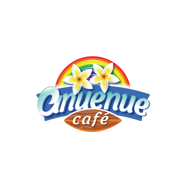 Anuenue Café Logo Design