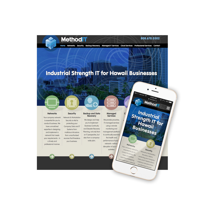 MethodIT Website Design