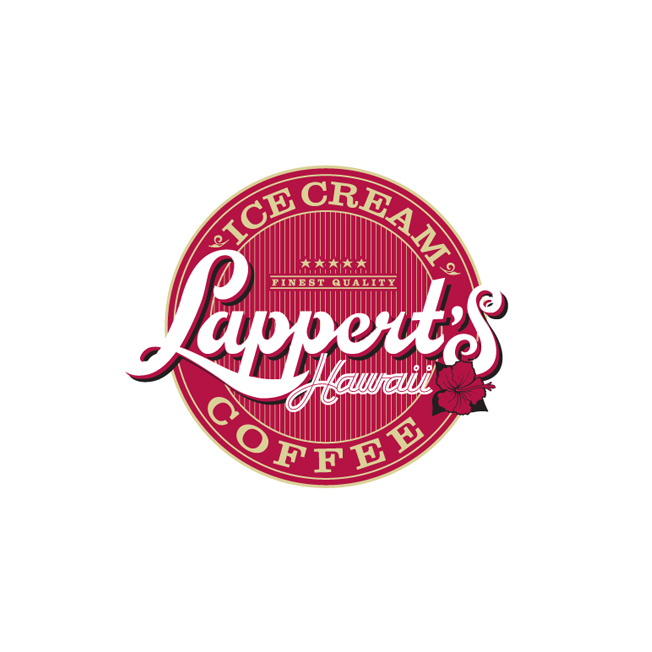 Lappert's Hawaii Logo Design