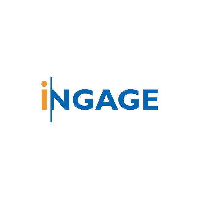 Ingage Logo Design