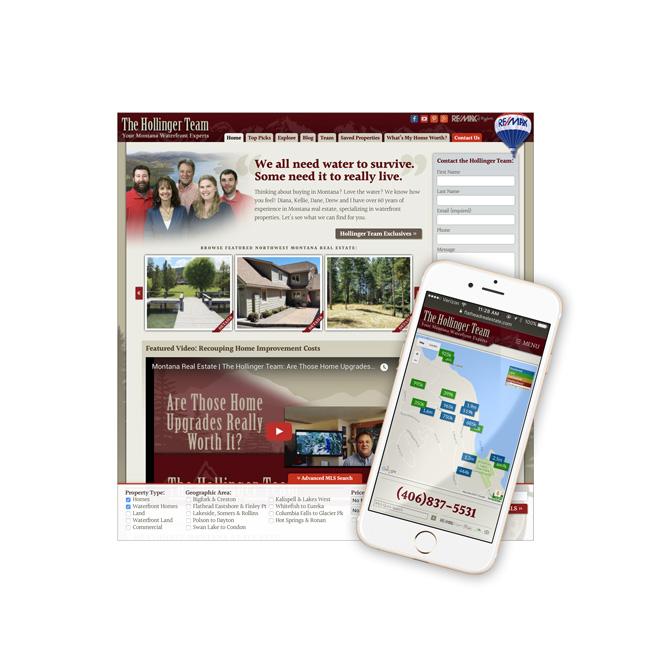 REMAX of Bigfork Website Design