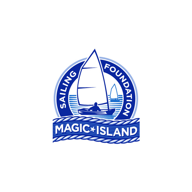 Magic Island Sailing Logo Design