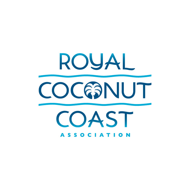 Royal Coconut Coast Logo Design