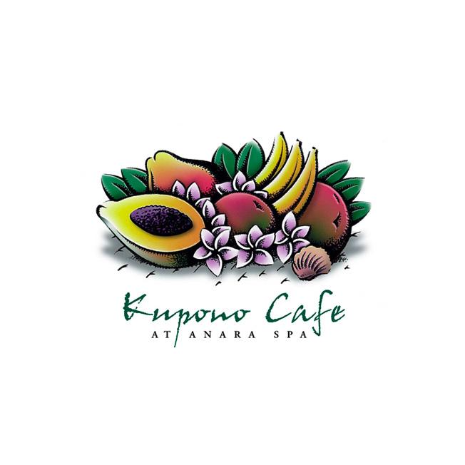 Kupono Café Logo Design