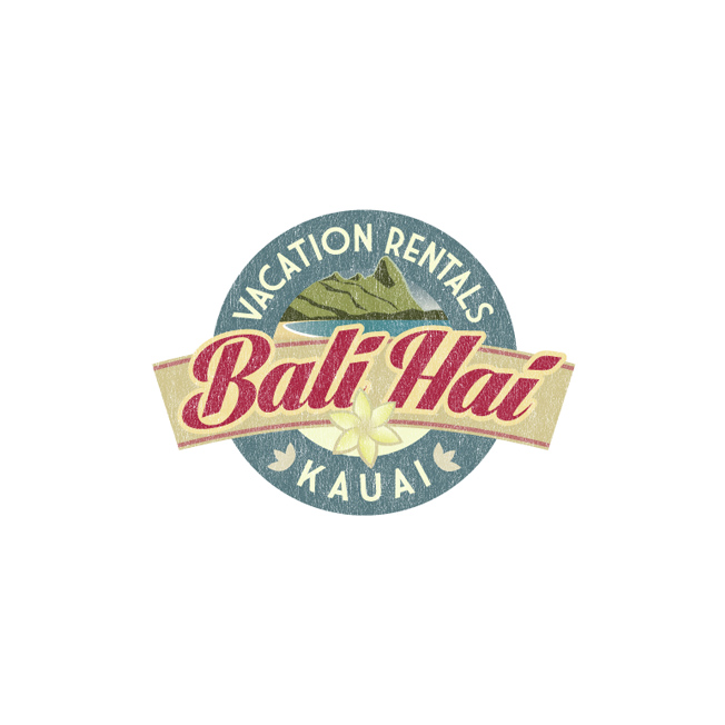 Bali Hai Vacation Rental Logo Design
