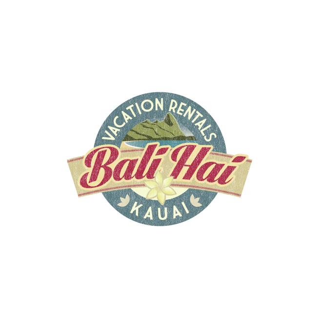 Bali Hai Vacation Rental Logo Design