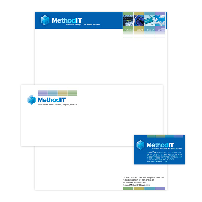 MethodIT Corporate Letterhead Design