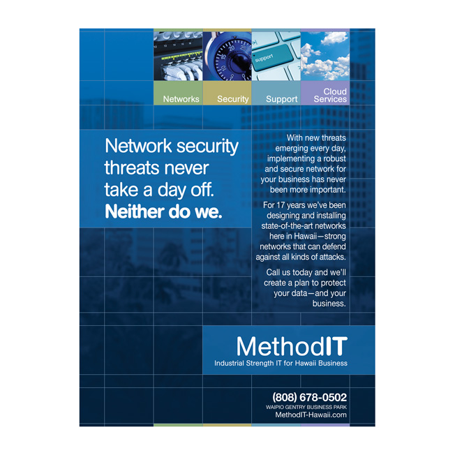 MethodIT Print Advertising