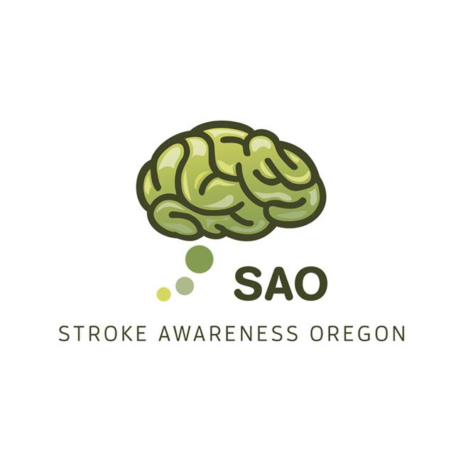 Stroke Awareness Oregon Logo Design