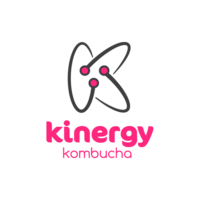 Kinergy Kombucha Logo Design