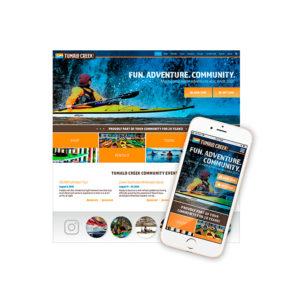 Tumalo Creek Website Design