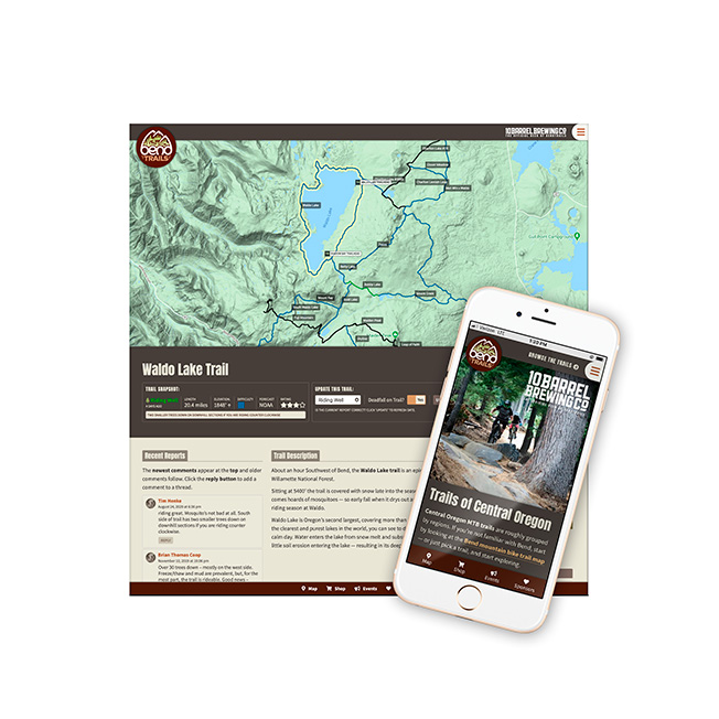 Bend Trails Website Design