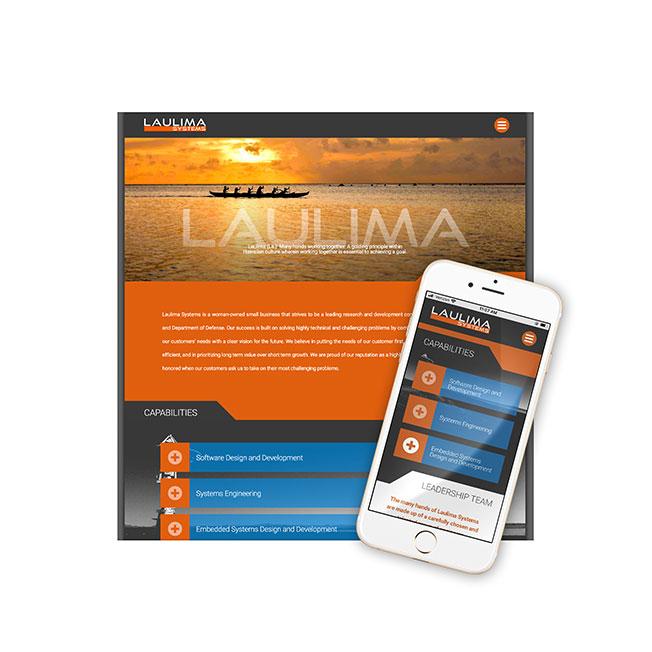 Laulima Systems Website Design